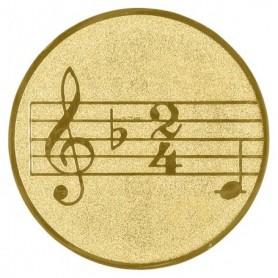 MEDALLAS M1 CENTR ALU MUSIC G 25