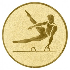 MEDALLAS M1 CENTR ALU GYM G 25MM