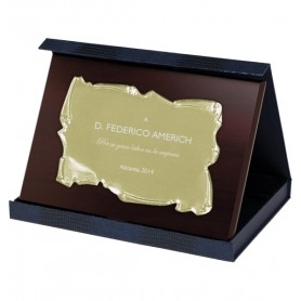 PLACAS HOMENAJE M1 PLACA CONM MINI 12,5X10